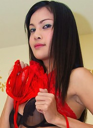 Gorgeous t-girl Alice heavily drilled by an old guy